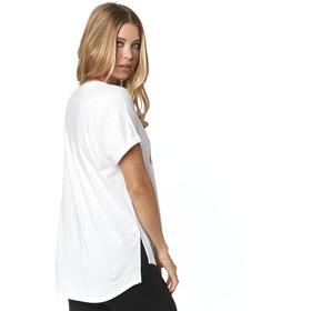 Fox Responded Rl V-Neck SS Shirt Women white